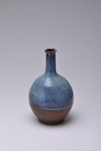 Gốm sứ Shiraiwa ware, bình rượu sake suzu  Kakunodate, Tỉnh Akita